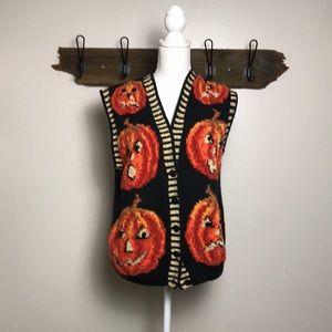 Marisa Christina Halloween Vest Vintage